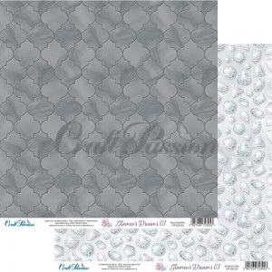Glamour Dreams 03 - scrapbooking paper 12''x12''
