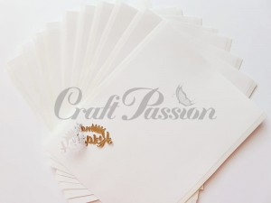 Double-sided adhesive sheets 15x20cm