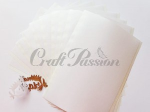 Double-sided adhesive sheets 10x15cm