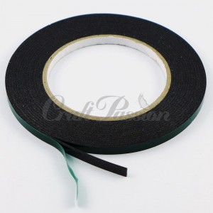 Double-sided  adhesive 3D tape 1,5mm 6mm/5m black