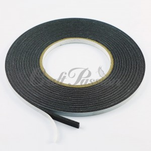 Double-sided adhesive 3D tape 3mm 6mm/5m black