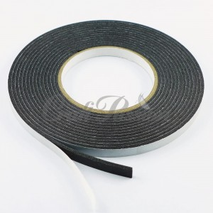 Double-sided adhesive 3D tape 3mm 9mm/5m black