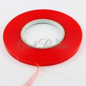 Double-sided adhesive PET tape 9mm/50m