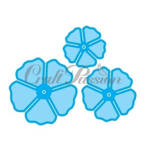 Set of Craft Dies FLOWERS no.5